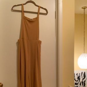 Sienna Sky Mustard Jumpsuit with Pockets (overall)